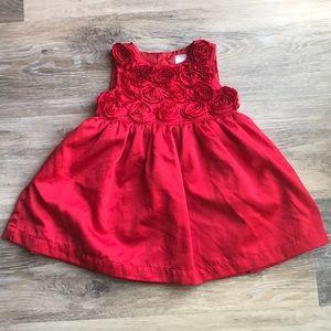 EUC Red Holiday Dress